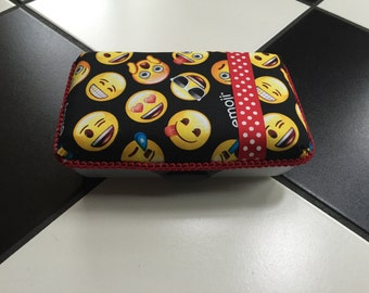 Emoji School Supply Box storage box trinket box