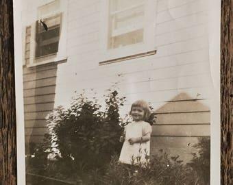 Original Vintage Photograph The Sweet Heart