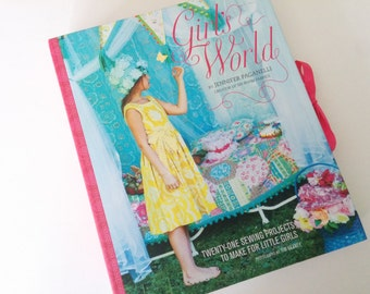 Sewing Patterns, Girl's World Sewing Pattern Book by Jennifer Paganelli