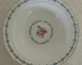 Harmony House Mt. Vernon Small Bowl Hall China 1950s Romantic Home Trinket Dish Cottage Chic