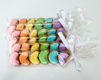 Decorated Cookies - Easter - Jelly Beans - Favors