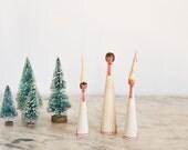 Vintage Sweden Choir Trio Swedish Nisse Christmas Tomte Folk Art Handmade