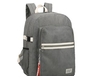 Stripe point Backpack(Gray)
