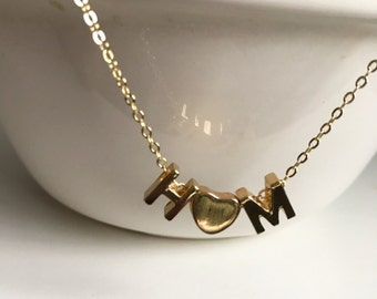 Original Gift For Wife, Trending Jewelry, Gold Initial Jewelry - initial heart necklace - personalized jewelry - Initial jewelry for her