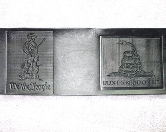 Dont tread on me  black wallet / billfold. second amendment  wallet  (17) ships same day as ordered