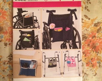 Wheel Chair Walker and Lounge Chair Sewing Pattern Simplicity 2822