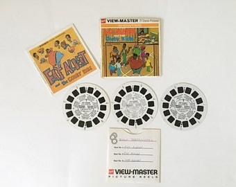 Vintage View Master Reels Set, Fat Albert and the Cosby Kids, GAF View-Master Stereoscope Pictures, 1972 CBS Television Show, 1970s Gift