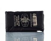 Beard Wash Bar DAYBREAK, charcoal soap, Beard Shampoo, Beard soap, spearmint, eucalyptus, essential, immaculate, Father gift, Dad Gift