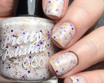 Don't Be a Pansy Glitter Nail Polish