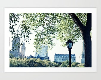 New York print, New York photography, Central Park, NYC print, New York canvas, black and white photography, canvas art, New York City