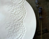 Snow White Lace Plate Set and Sugar Skull Set