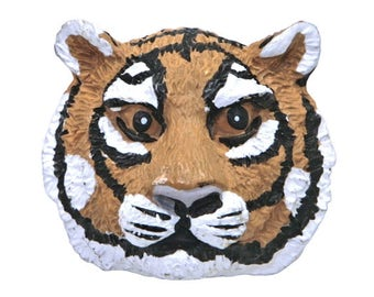 Save the Tiger 1 inch ( 26 mm ) Novelty Sewing Button