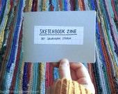 sketchbook art zine