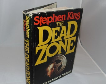 Vintage Stephen King The Dead Zone 1979 Hardcover HCDJ Horror Viking press