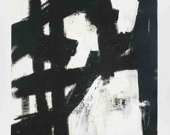 Franz Kline-New York, NY (lg)-1980 Poster