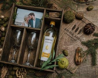 Wine and Photo Box