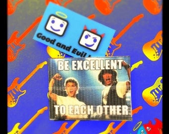 Bill and Ted, Duct Tape Wallet, Good and Evil Creations, Wyld Stallyns, Excellent