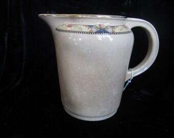 VINTAGE CREAMY PITCHER, Beautiful milk pitcher, Cambridge water pitcher