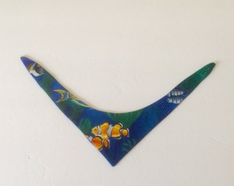 Dog Bandana, Small Dog Bandana, Dog Neckwear, Dog Necktie, Dog Scarf, Dog Apparel, 8 to 10 Inch Neck, Ready to ship, Dog Clothes. Pet Items