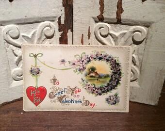 Postcard Vintage Valentine