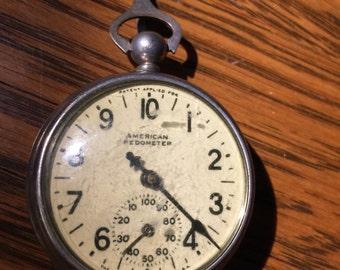 American Pedometer- New Haven Clock Company