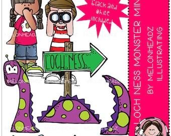 Loch Ness Monster clip art Mini