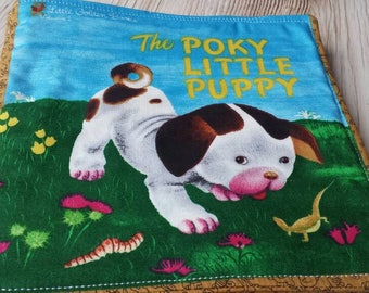 Poky little puppy soft cloth book/ child fabric book