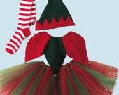 Child's Elf costume f...