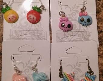 Kawaii Handmade Earrings