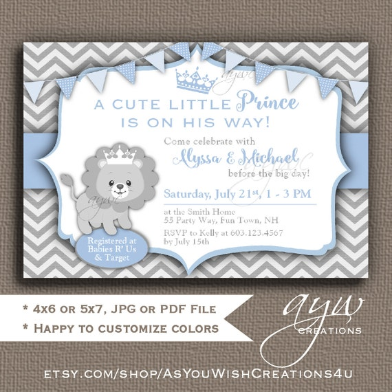 lion baby shower invitation lion prince baby shower invitations printable invites prince lion baby shower boy