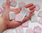Letter from The Tooth Fairy- tiny and personalized, pink designs