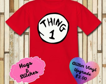 Thing One Dr. Seuss Shirt
