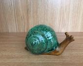 Ceramic Snail Handmade