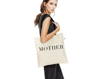 MOTHER Organic Tote Bag | White