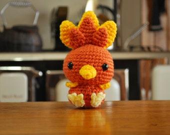 Crochet Chibi Torchic