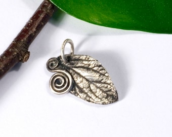 Trailer, real hand, 925 Silver, lucky charm, unique, OOAK