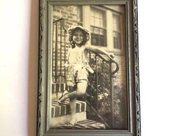 Photo of Little Girl - Framed