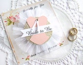 Lingerie Shower, Bachelorette Party, Custom Color, Corset Bride to Be Pin, Custom Color Bride Corsage, Hen Party Pin Black Pink Glitter