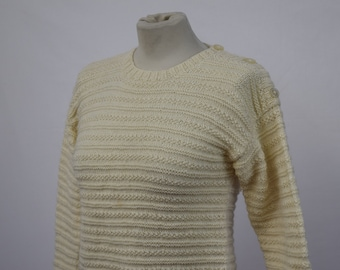 Womens Cable Knit Jumper (DOWN FROM 24.99)