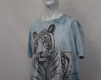 White Tiger Hipster T-shirt