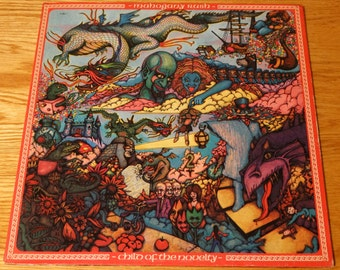 Vintage 1974 Mahogany Rush Vinyl Record Album Progressive Prog Rock Funk