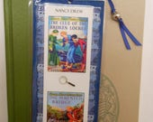 Nancy Drew Clue of the Broken Locket The Haunted Bridge Bookmark - Laminated double sided