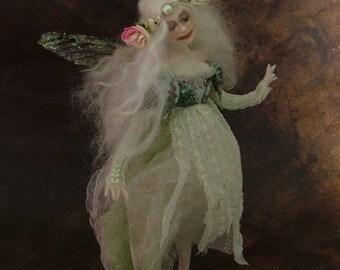 MIDSUMMER MAGIC 30% OFF *** The Little Rose Leaf Faery