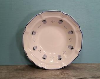 Two Hankook Blue Pineapple Bowls