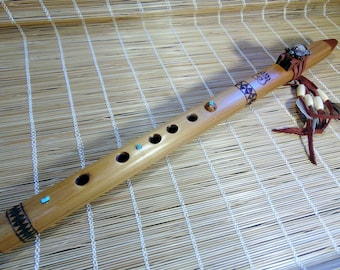 Native American Style Flute.Low E. Meditation and Ceremony.