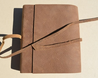 Ready to Ship Leather Bound Journal Travel Adventure Diary Notebook Poetry Art Sketchbook (591)