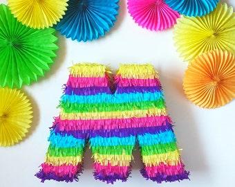 Letter piñata custom made