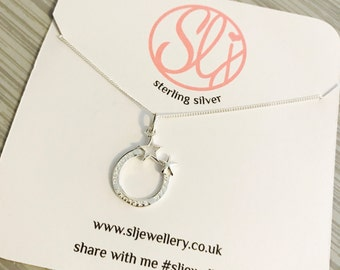 Dream Explore Discover Necklace, Quote Pendant, Sterling Silver, Silver Jewellery, Necklace, Dainty, Layering, Inspiring, Inspire