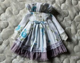 "Ooak Blythe dress by Iriscustom "" Fresh of Springtime """