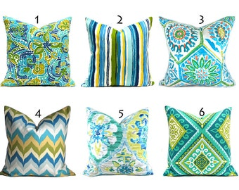turquoise outdoor pillows any size outdoor cushions outdoor pillow covers decorative pillows outdoor cushion covers best